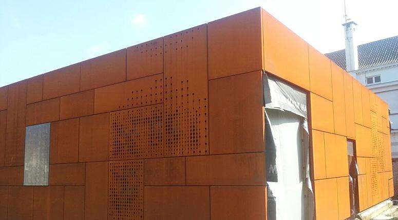 Brugge Uitbreiding Bibliotheek